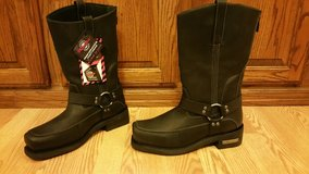 Men's Milwaukee Harness engineer motorcycle boots- Brand New in Fort Campbell, Kentucky