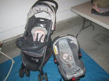 Minnie Mouse Garden Infant Car Seat and Stroller in Camp Pendleton, California