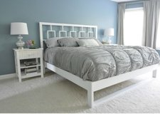 Custom wood bed in Camp Lejeune, North Carolina