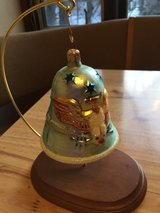 Christopher Radko Patriotic Bell Ornamant with Stand in Bolingbrook, Illinois