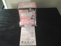 Vintage Mini Wheaties John Elway Encased Football/Sports Collectable in Plainfield, Illinois