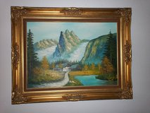 Beautiful Gold Framed Oil painting in Fort Lewis, Washington