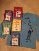 HC Diary of a Wimpy Kid Books & Shirt in Plainfield, Illinois