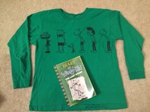 Diary of a Wimpy Kid Book & Shirt in Bolingbrook, Illinois