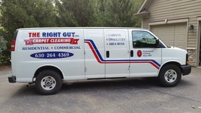 Carpet Cleaning-The Right Guy, Inc. Cleaning Services of Area Rugs/Tile Floors/Furniture in St. Charles, Illinois