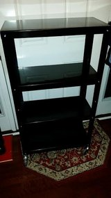 New / Black / Commercial Metal Rolling Book Shelf in Clarksville, Tennessee