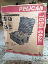 Pelican 1690 with foam in box in Quantico, Virginia