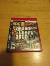 Grand theft auto 4 for PS3 in Naperville, Illinois