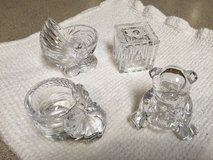 Set of 4 Glass Baby Decor in Bolingbrook, Illinois