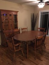 Price Reduced - Maple Dining Set in Orland Park, Illinois