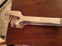 Stainless Salad Tongs in Yorkville, Illinois