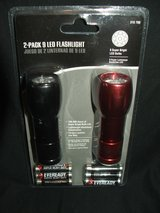 LED Flashlights 2-Pack  NEW in Plainfield, Illinois