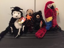 Brand new Folkmanis puppets in Lockport, Illinois