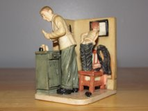 """Norman Rockwell Figurine """"Doctor's Office""""~Reduced in Yorkville, Illinois"""