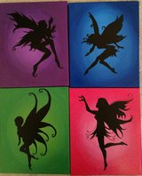 Fairies hand painted in Camp Pendleton, California