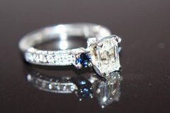1.42ct Emerald Cut Diamond Engagement Ring in St. Charles, Illinois