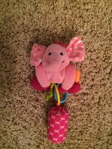 Toy-Infant Car Seat/Stroller Hanging Elephant-GUC in Joliet, Illinois