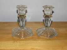 Reduced Again~Vintage Crystal Candlesticks in Yorkville, Illinois