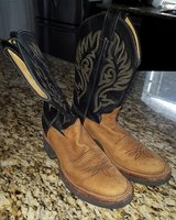 Justin Teckno Crepe boots ~ size 7 in Houston, Texas