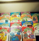 1989 Vintage On My Way With Sesame Street Books Hardcover Set in Naperville, Illinois