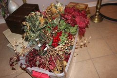50 pc NEW Hobby Lobby christmas holiday stems & picks, flowers, fruit, etc in Glendale Heights, Illinois