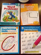 4 Workbooks NEW for Grades 2-4: Cursive and Kumon Math in Bolingbrook, Illinois