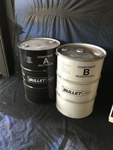 55 gallon steel drums in Yucca Valley, California