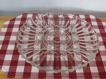 Vintage Pressed Glass Relish Tray~Reduced in Yorkville, Illinois