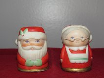 Vintage Thimbles~Mr & Mrs Santa Clause by NAPCO~Reduced in Aurora, Illinois