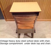 VINTAGE-School Desk in Chicago, Illinois