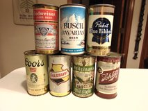 Wanted Old Beer Cans in Yorkville, Illinois