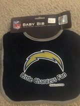 NFL Little Chargers Fan baby bib New in Camp Lejeune, North Carolina