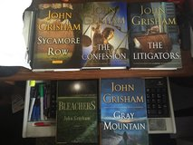5 JOHN GRISHAM NOVELS in Yucca Valley, California
