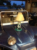 Ghost flame lamp in Yucca Valley, California