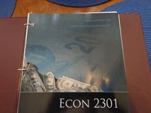 Macro Economics 2301 New Textbook Lonestar College in Kingwood, Texas