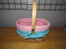 Woven Lined Easter Basket~Reduced in Aurora, Illinois