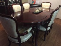 Rosewood French style dinning set in Okinawa, Japan