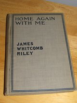 """Home Again With Me"" by James Whitcomb Riley~Antique in Yorkville, Illinois"