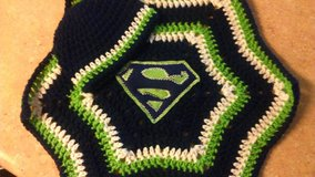 Crochet Sports Team Inspired Blanket and Cap Set in Tacoma, Washington