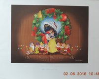 "Rare Disney Dream Limited Edition Lithograph ""Glad Tide-ings to All"" in Quantico, Virginia"