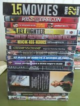Martial Arts Dvd Lot New/ Used in 29 Palms, California
