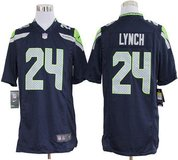 MARSHAWN LYNCH Stitched Nike Adult Medium & Large Jersey (Blue) and XXL (White) *** NEW *** in Fort Lewis, Washington