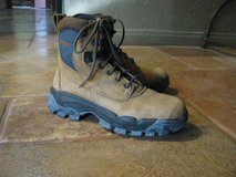 Woman's Suede Worx Boots by Redwing, Size 8.5M, Steel Toe, Like new! in Yucca Valley, California
