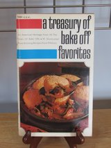 "Cookbook ""A Treasury of Bake-Off Favorites"" Pillsbury 1969 in Aurora, Illinois"
