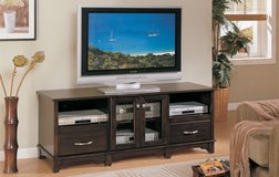CAPPUCCINO TV STAND FREE DELIVERY in Camp Pendleton, California