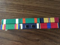 Navy Ribbon Bar Group of 6, Merit. Serv., Commendation, Achievement, Service in Aurora, Illinois