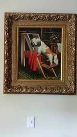 Oil Painting on Canvas that is a collector item and it is beautiful, especially if you are a dog... in Kingwood, Texas