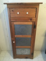Wood Project Cabinet w/Tin Punch Door in Yorkville, Illinois
