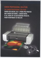 CANON Pixma Pro 9000 Large Versatile PRINTER - ONLY $160.00 EXCELLENT CONDITION in Wilmington, North Carolina