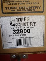 Tuff Country 2 inch level kit paid $95. dodge 1994-2013 NEW in Travis AFB, California
